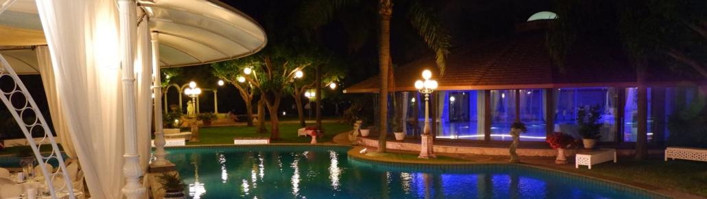 Sala Nettuno - Villa Oasis Ricevimenti Acireale - Piscina