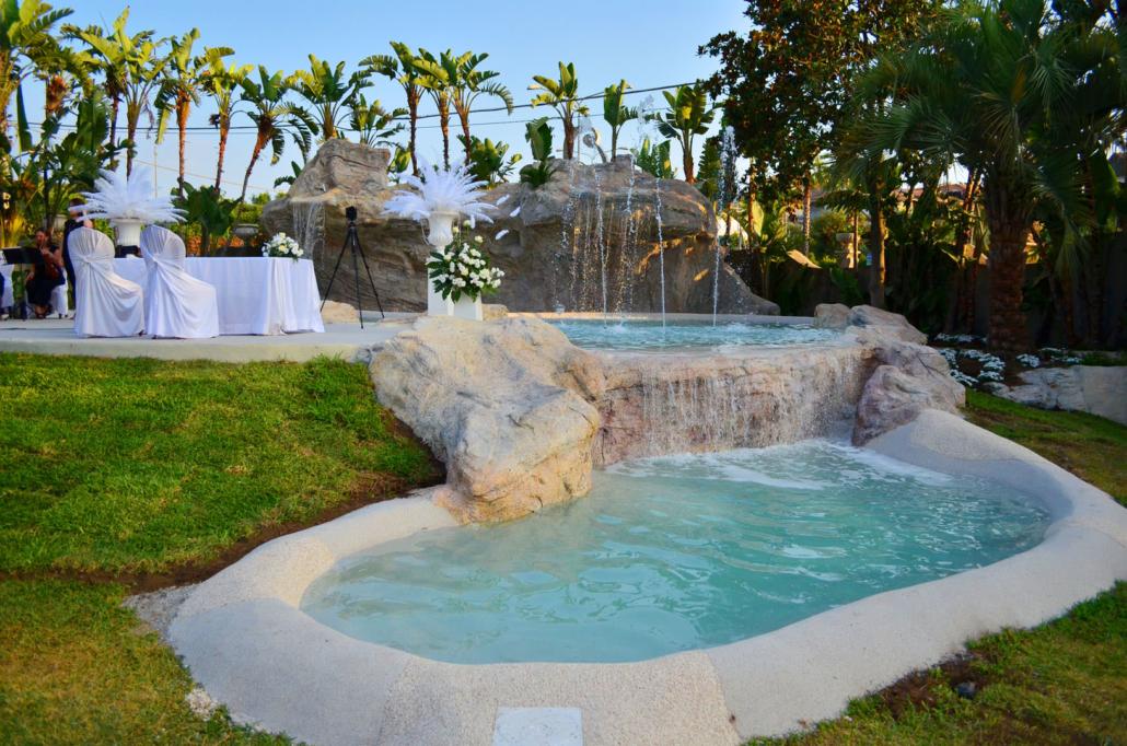 Fontana Anfiteatro - Villa Oasis Ricevimenti Acireale - Rito Civile