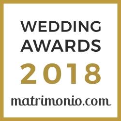Premio 2018 - matrimonio.com - Sala Ricevimenti Villa Oasis Acireale