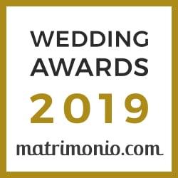 Premio 2019 - matrimonio.com - Sala Ricevimenti Villa Oasis Acireale